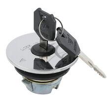Silver Fuel Gas Tank Cap Lock Cover W/Key For Yamaha FZR600 FZR400 FZ250