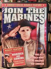 DOUBLE FEATURE, Join The Marines (1937) & The Marines Are Coming (1934)RomComedy