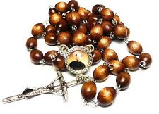 St JOHN BOSCO brown 3rd Relic rosary editors publishers, children young ppl