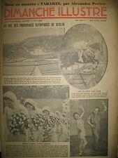 N° 696 REPORTAGES PHOTOS HISTOIRE ROMAN BD BICOT M. POCHE DIMANCHE ILLUSTRE 1936