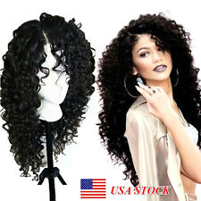 Lace Front Wigs for Black Women Long Loose Curly Synthetic Wigs with Baby Hair