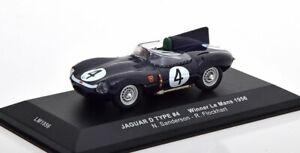 1:43 Ixo Jaguar D-Type Winner 24h Le Mans Sanderson/Flockhart 1956