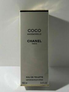 CHANEL COCO MADEMOISELLE EAU DE TOILETTE SPRAY 3.4 OZ/100ML  FACTORY SEALED