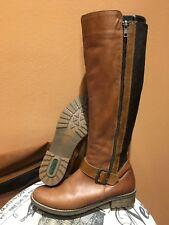 Rieker Women Elaine 58 By Remonte Muskat Leather Knee High Boots sz 36/5.5-6M