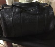 Alexander Wang Ink Dark Blue Rocco Bag Studded Duffle Handbag $925 - New!!!