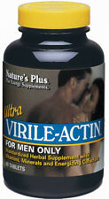 Ultra Virile-Actin, Nature's Plus, 60 tablets