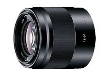 Sony E 50mm F1.8 OSS Lens Black 50 F/1.8 SEL50F18/BK for E-Mount NEX ILCE ~ NEW