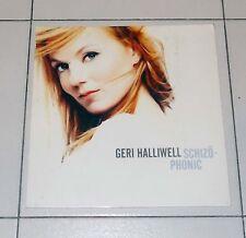 Cartonato Promo Cd GERI HALLIWELL Schizophonic 2 POSTER manifesto 31x31 cm