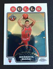 🏀 Derrick Rose 2008-2009 Topps Chrome RC #181