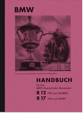 BMW R 12 17 Bedienungsanleitung Betriebsanleitung Handbuch R12 R17 Owners Manual