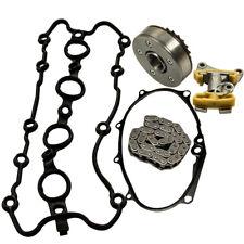 Cam Timing Adjuster Chain Tensioner Gasket Kit For Audi A3 A4 2.0 TFSI FSI 16V