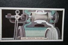Steam Locomotive Piston Valve    Vintage Card   VGC