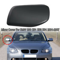 Right Passenger Black Door Side Mirror Cover Caps Fit For BMW E60 2004-2007 UE