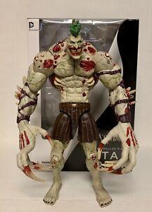 Used Batman Arkham Deluxe Titan Joker DC Collectibles Figure Direct Asylum City