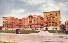 ST. LUKE'S HOSPITAL ST. LOUIS MISSOURI POSTCARD (c. 1910)
