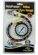 Rocky Creek Adventure Motorcycle Tyre Pressure Gauge Heavy Duty