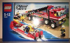 LEGO City 7213 CAMION TOUT TERRAIN POMPIER de 2010 100% NEUF JAMAIS OUVERT