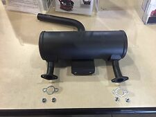Toro Dingo muffler with 4 nuts and 2 gasket (fits some 220's and some 323's)