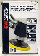 "Campbell Hausfeld Tl0504 1/4"" Dual Action Air Sander Automotive Sanding"