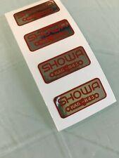 Honda Showa Fork Decal Shock Decal XR500 MG3 Red