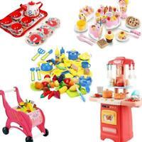 6-50Pcs Kids Kitchen Play set All in One Children Pretend Playset