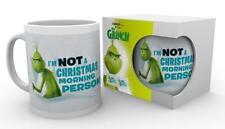 The Grinch Tasse Not A Christmas Morning Person - Weihnachten Kaffeetasse lustig