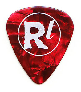 Matchbox Twenty 20 Rob Thomas Single-Sided Red Pearl Guitar Pick 2005 Solo Tour