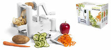 3Blades Fruit Vegetable Spiral Cutter Peeler Plastic Kitchen Spiraliser Tool Set