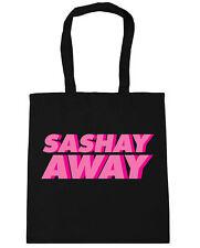 Sashay away Tote Shopping Gym Beach Bag 42cm x38cm, 10 litres