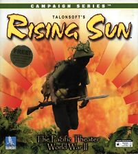 RISING SUN The Pacific Theater - Brand New - Sealed Big Box - PC WWII Wargame