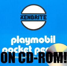 1970S PLAYMOBIL POCKET PEOPLE KENBRITE AUSTRALIA RARE TOY DEALER BOOKS ON CD-ROM