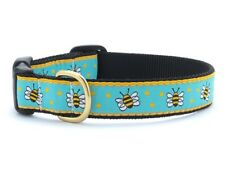 Up Country - Dog Puppy Design Collar - Made In USA - Bee - XS S M L XL XXL