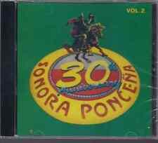Salsa RARE CD FANIA Sonora Ponceña 30 aniversario V2 BOMBA CARABOMBA boranda PIO