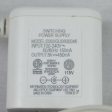 AT&T vTechWhite S0036U0600045 AC Adapter Switching Power Supply 6.0V 450mA WORKS