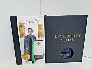 Harry Potter Invisibility Cloak, Age 6+, NEW in box, Includes phone stand and ap