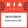 0K55239070 Kia Rubberengmtg no4 0K55239070, New Genuine OEM Part