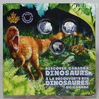 2019 - Dinosaurs of Canada - 25-cent 3-Coin Gift Set