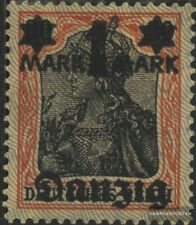 Danzig 26I geprüft gestempelt 1920 Aufdruckausgabe