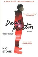 Dear Martin, Paperback by Stone, Nic, ISBN-13 9781101939529 Free shipping in ...