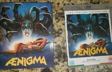 Aenigma Slipcover OOP Indiegogo Edition 88 Films Bluray Lucio Fulci