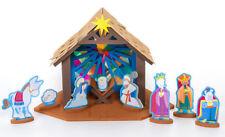 Creatology 3D Structure Nativity Scene Foam Kit Manger Crèche Jesus Mary 166 pc