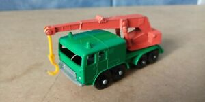 MATCHBOX petit camion truck LKW N°: 30 1/87 grue no majorette HO train
