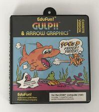 GULP!! EduFun by Milliken ATARI 16K400 800 Spiel Game Jeu