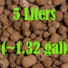 5 Liters Hydroponic Clay Beads Growing Media Expanded Clay Rocks (Grit: 10-20mm)