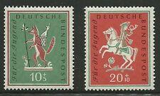 Album Treasures Germany Scott # B360-B361 Young People Trips Mint NH