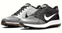 Nike Flyknit Racer Golf Shoes Black/White 'OREO' 909769-001 MSRP $175 **UNISEX**
