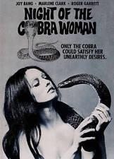 Night of the Cobra Woman (DVD, 2014) RARE 1972 HORROR JOY BANG BRAND NEW