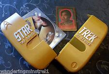 STAR TREK The Original Series Complete First Season DVD & Sulu Collectible Card