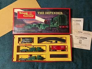 *VERY RARE* Triang RS.50 The Defender Train Set 1964 - Complete, Working & Boxed