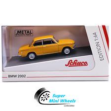 Schuco 1:64 BMW 2002 (Orange) - Diecast Model Car